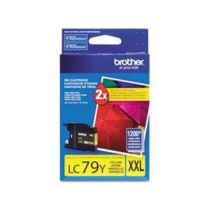 OEM Genuine Brother LC79Y inkjet cartridge - yellow