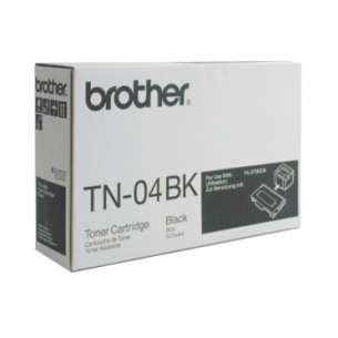 OEM Genuine Brother TN04BK toner cartridge - black cartridge