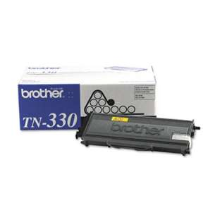 OEM Genuine Brother TN330 toner cartridge - black cartridge