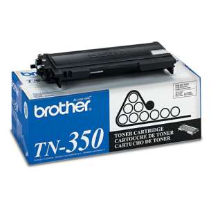 Original Brother TN350 toner cartridge - black