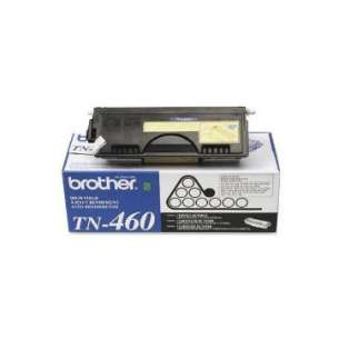 OEM Genuine Brother TN460 toner cartridge - high capacity black