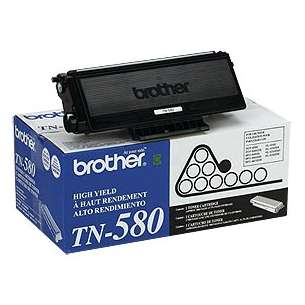 OEM Genuine Brother TN580 toner cartridge - high capacity black