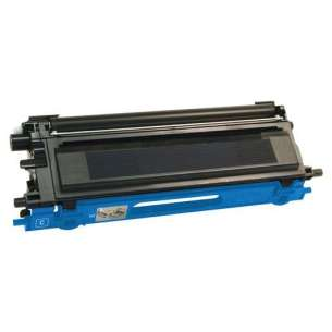 Compatible Brother TN115C toner cartridge - high capacity cyan