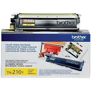 OEM Genuine Brother TN210Y toner cartridge - yellow