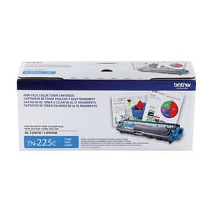 OEM Genuine Brother TN225C toner cartridge - high capacity cyan