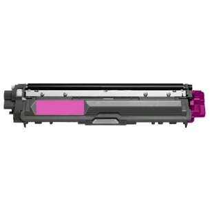 Compatible Brother TN225M toner cartridge - 2,200 page yield - high capacity magenta