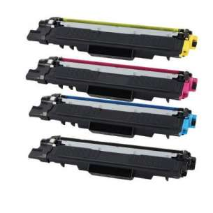 Compatible Brother TN227 toner cartridges - WITH CHIP - 4-pack