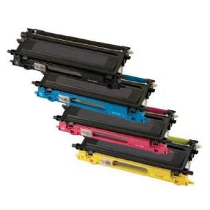 Compatible Brother TN315BK / TN315C / TN315M / TN315Y toner cartridges - high capacity - 4-pack