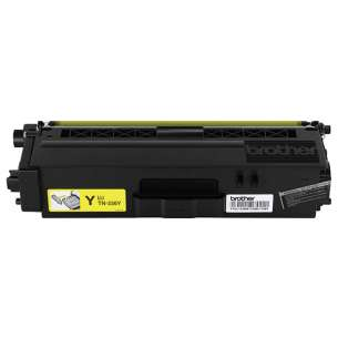 OEM Genuine Brother TN336Y toner cartridge - high capacity yellow