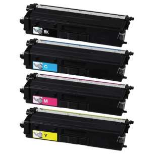 Compatible Brother TN439BK / TN439C / TN439M / TN439Y toner cartridges - 4-pack
