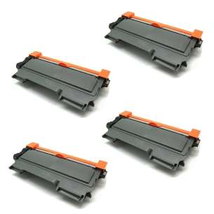 Compatible Atlantic Inkjet Canada Brother TN450 toner cartridges - jumbo capacity black - 4-pack