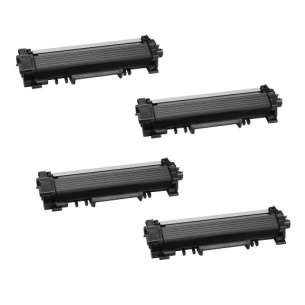 Compatible Atlantic Inkjet Canada Brother TN730 toner cartridges - black - 4-pack