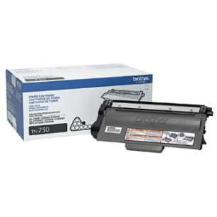 OEM Genuine Brother TN750 toner cartridge - high capacity black