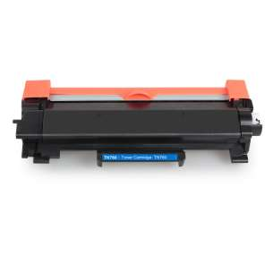 Compatible Atlantic Inkjet Canada Brother TN760 toner cartridges - high capacity black