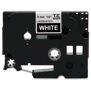 Tape for Brother TZe-315 - white on black