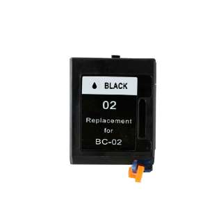 Remanufactured Canon BX-02 inkjet cartridge - black cartridge