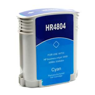 Remanufactured HP C4804A (HP 12 ink) inkjet cartridge - cyan