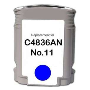 Remanufactured HP C4836A (HP 11 ink) inkjet cartridge - cyan