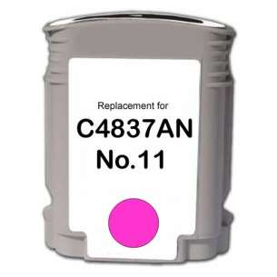 Remanufactured HP C4837A (HP 11 ink) inkjet cartridge - magenta