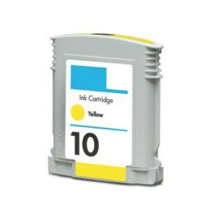 Remanufactured HP C4842A (HP 10 ink) inkjet cartridge - yellow