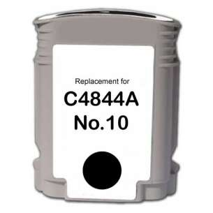 Remanufactured HP C4844A (HP 10 ink) inkjet cartridge - black cartridge