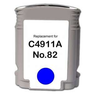 Remanufactured HP C4911A (HP 82 ink) inkjet cartridge - cyan