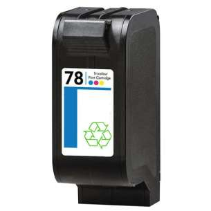 Remanufactured HP C6578 (HP 78 ink) inkjet cartridge - color cartridge