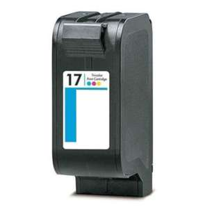 Remanufactured HP C6625 (HP 17 ink) inkjet cartridge - color cartridge