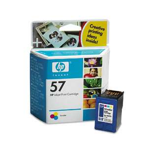 Original Hewlett Packard (HP) C6657 (HP 57 ink) inkjet cartridge - color cartridge
