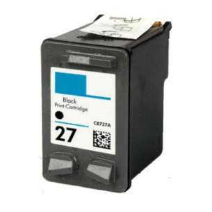 Remanufactured HP C8727AN (HP 27 ink) inkjet cartridge - black cartridge
