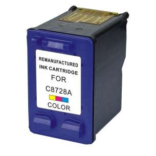 Remanufactured HP C8728AN (HP 28 ink) inkjet cartridge - color cartridge