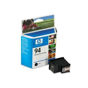 Original Hewlett Packard (HP) C8765W (HP 94 ink) inkjet cartridge - black cartridge