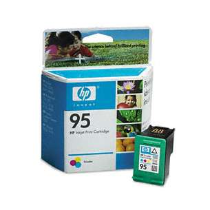 Original Hewlett Packard (HP) C8766 (HP 95 ink) inkjet cartridge - color cartridge