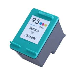 Remanufactured HP C8766 (HP 95 ink) inkjet cartridge - color cartridge