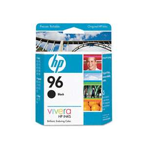 Original Hewlett Packard (HP) C8767 (HP 96 ink) inkjet cartridge - black cartridge