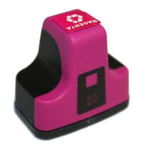 Remanufactured HP C8772WN (HP 02 ink) inkjet cartridge - magenta