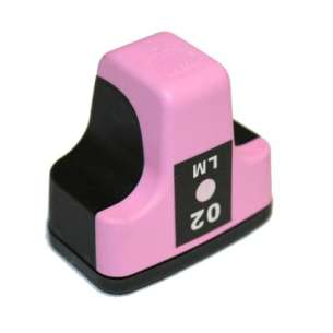 Remanufactured HP C8775WN (HP 02 ink) inkjet cartridge - light magenta