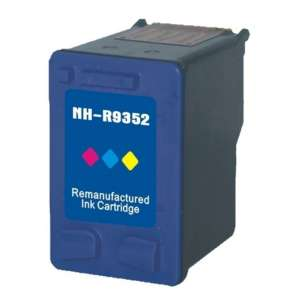 Remanufactured HP C9352AN (HP 22 ink) inkjet cartridge - color cartridge