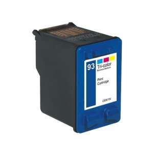 Remanufactured HP C9361 (HP 93 ink) inkjet cartridge - color cartridge