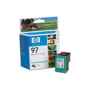 Original Hewlett Packard (HP) C9363 (HP 97 ink) inkjet cartridge - color cartridge