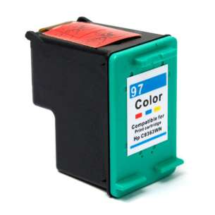 Remanufactured HP C9363 (HP 97 ink) inkjet cartridge - color cartridge