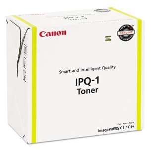 Genuine Brand Canon 0400B003AA (IPQ-1) toner cartridge - yellow