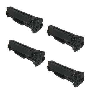Compatible Atlantic Inkjet Canada Canon 118 toner cartridges - 4-pack