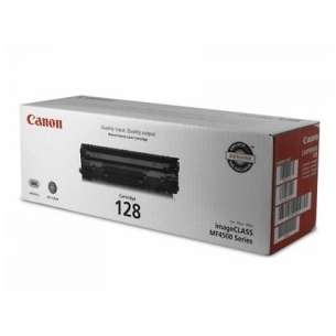 Genuine Brand Canon 128 toner cartridge - black cartridge