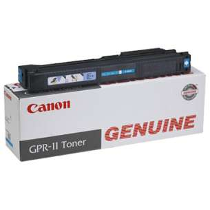 Genuine Brand Canon 7628A001AA (GPR-11) toner cartridge - cyan