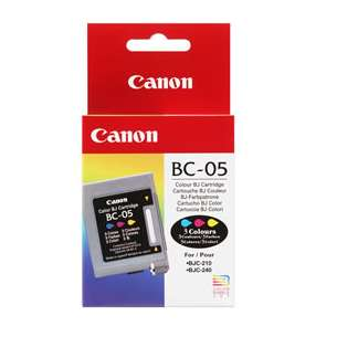 Genuine Brand Canon BC-05 inkjet cartridge - color cartridge