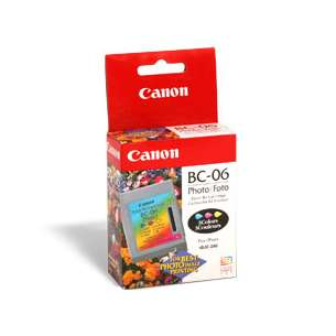 Genuine Brand Canon BC-06 inkjet cartridge - photo