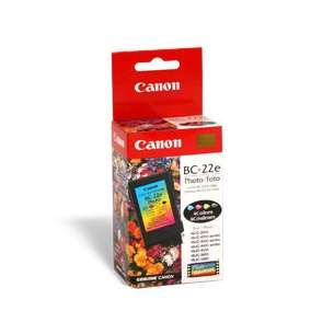 Genuine Brand Canon BC-22e inkjet cartridge - photo