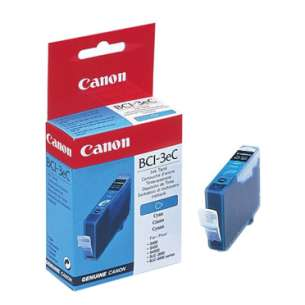 Genuine Brand Canon BCI-3eC inkjet cartridge - cyan