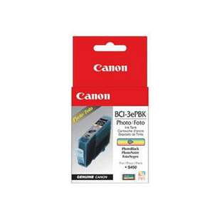Genuine Brand Canon BCI-3ePBk inkjet cartridge - photo black